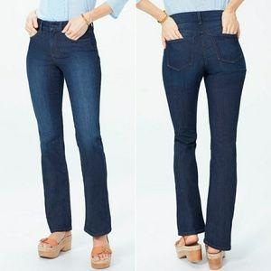 NYDJ Barbara Boot Cut Jeans in Burbank Wash
